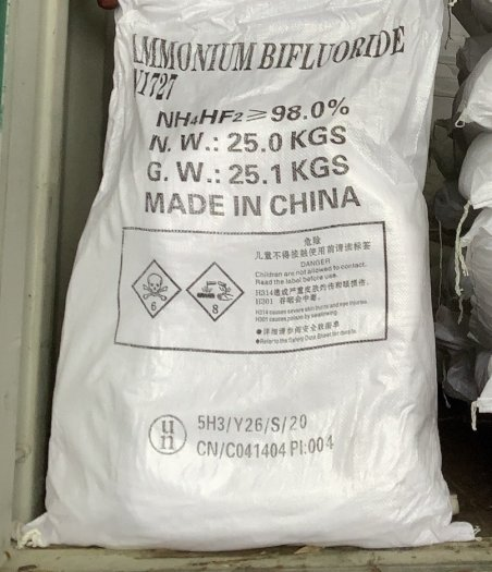 Ammonium bifluoride (NH4HF2) - Trung Quốc0