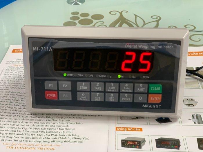 Đầu cân điện tử MI711A model kinh tế của Migun - Hàn Quốc. Báo giá Đại Lý tại đây : 09153226923
