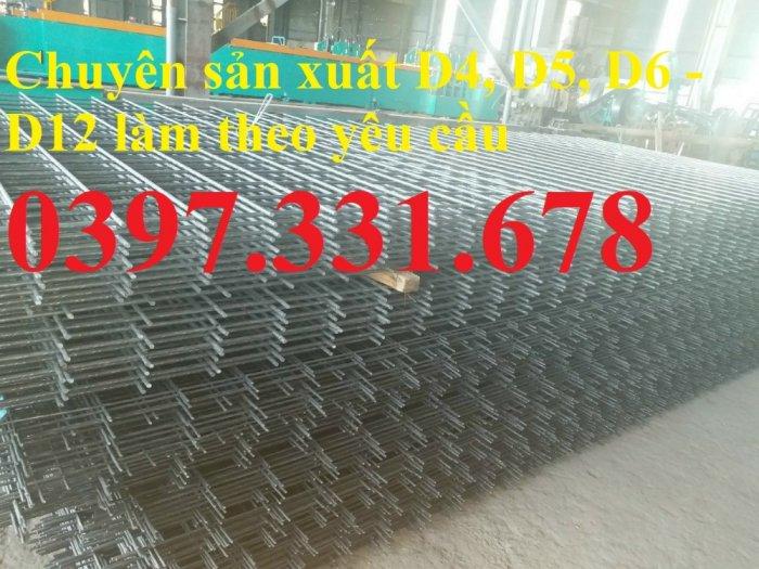 Lưới thép hàn phi 8 ô (100x100), ô (150x150), ô (200x200) giá tốt1