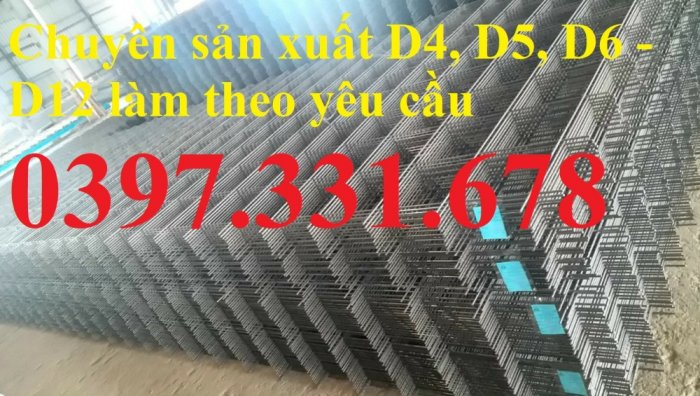 Lưới thép hàn phi 8 ô (100x100), ô (150x150), ô (200x200) giá tốt0