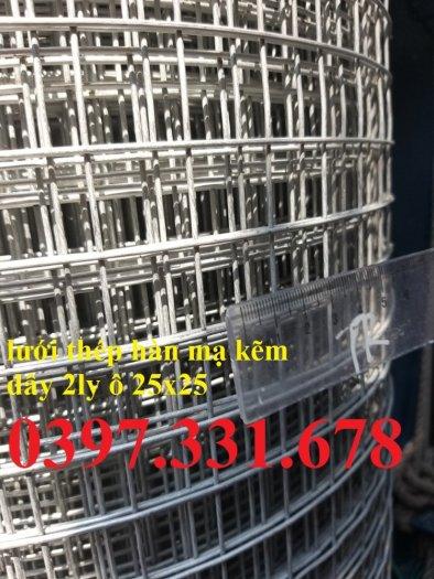 Lưới thép hàn Dây 2ly ô 25x25 giá sỉ3