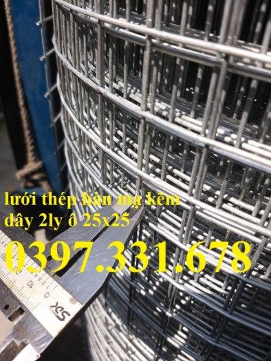 Lưới thép hàn Dây 2ly ô 25x25 giá sỉ2