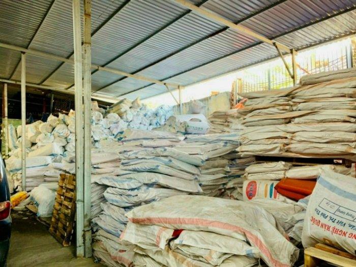 Bạt xanh cam, bạt xây dựng, che nắng mưa, che hàng hóa, nguyên cuộn khổ 4m x 50m3