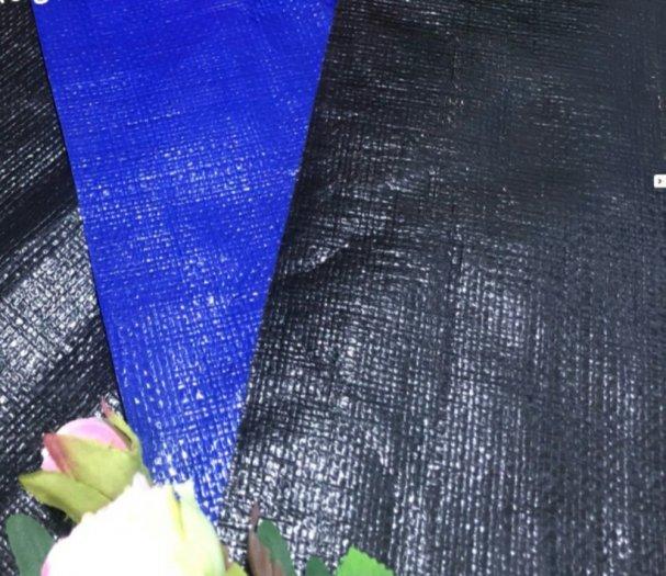 Bạt xanh đen, bạt lót hồ, nuôi thủy sản... nguyên khổ 4mx50m2