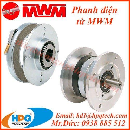 Phanh điện từ MWM | Khớp nối giới hạn momen MWM3