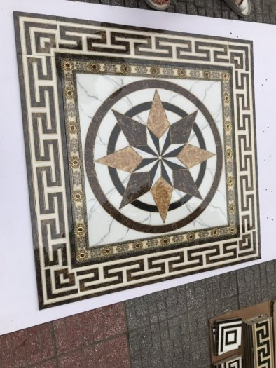 Gạch thảm 3D trang trí thang máy4