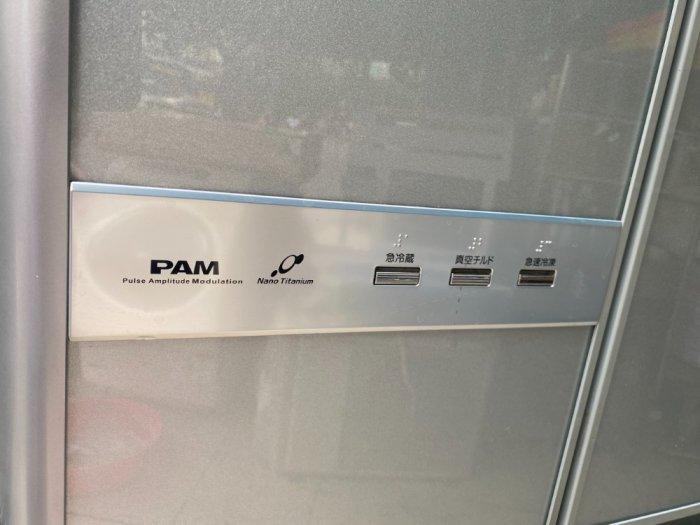 Tủ lạnh nội địa Hitachi 6 cánh Y5400 hút chân không mặt gương kính cường lực8