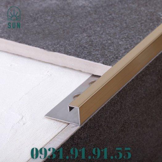 Nẹp góc vuông kế thúc gạch bằng inox - Nẹp góc vuông kết thúc sàn - Nẹp kết thúc dạng vuông4