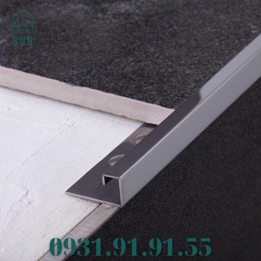 Nẹp góc vuông kế thúc gạch bằng inox - Nẹp góc vuông kết thúc sàn - Nẹp kết thúc dạng vuông1