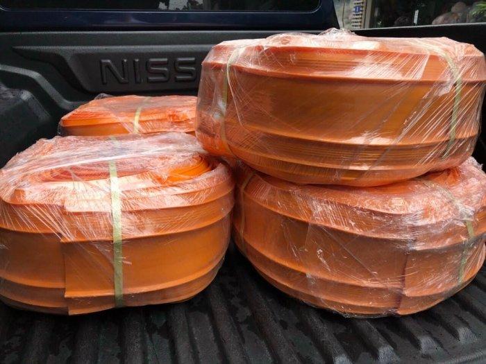 Tấm nhựa pvc O250-20m chống thấm cho nhà đầu tư2
