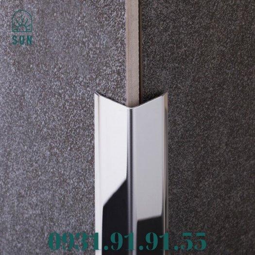 Nẹp inox chữ V - Nẹp V inox vàng gương - Nẹp V50 inox bóng - Nẹp V20 inox trắng xướng10
