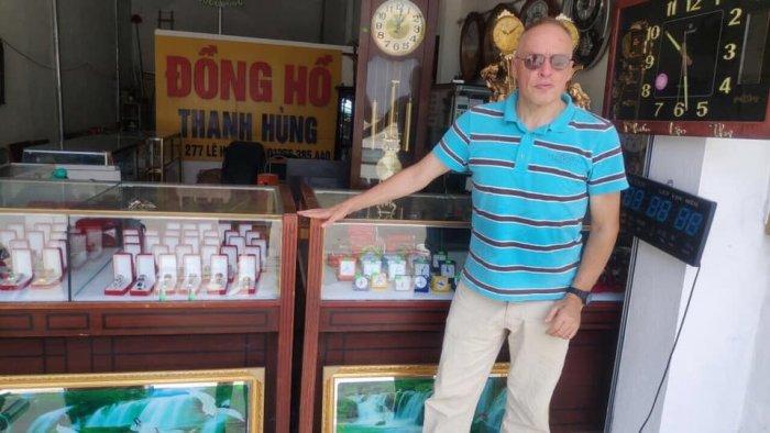 Bộ ruột đồng hồ quả lắc cây chính hãng sunny cao cấp mặt 27 cm- Đồng Hồ Thanh Hùng0
