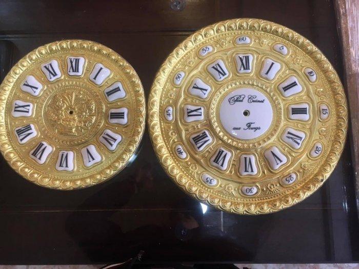 Bộ ruột đồng hồ quả lắc cây bằng đồng mặt 32 cm- Đồng Hồ Thanh Hùng0