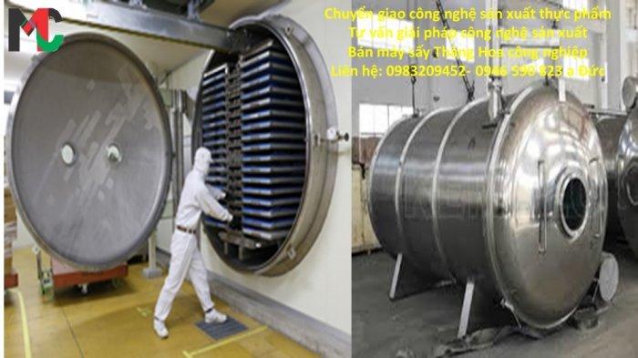 Cung cấp máy sấy thăng hoa công nghiệp3