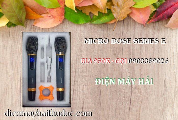 Micro không dây Bose Series E xài cho Loa kéo, Amply đều được2