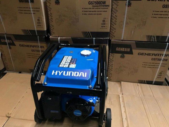Máy phát điện gia đình 5kw Genesis 7500DW giá rẻ0