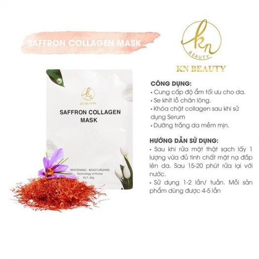 Mặt Nạ Tinh Nhụy Hoa Nghệ Tây KN Beauty Saffron Collagen Mask 30gr5