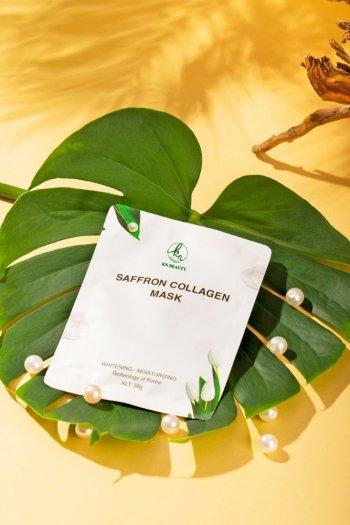 Mặt Nạ Tinh Nhụy Hoa Nghệ Tây KN Beauty Saffron Collagen Mask 30gr4