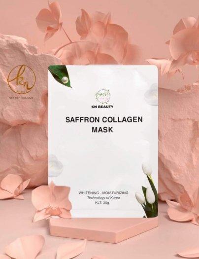 Mặt Nạ Tinh Nhụy Hoa Nghệ Tây KN Beauty Saffron Collagen Mask 30gr3