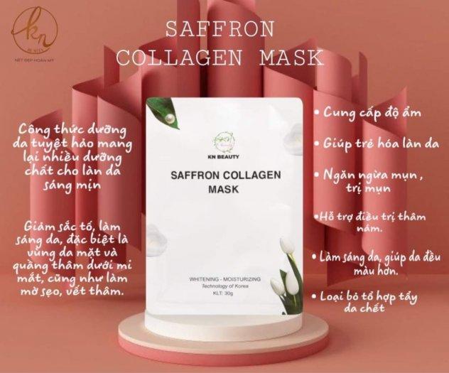 Mặt Nạ Tinh Nhụy Hoa Nghệ Tây KN Beauty Saffron Collagen Mask 30gr2