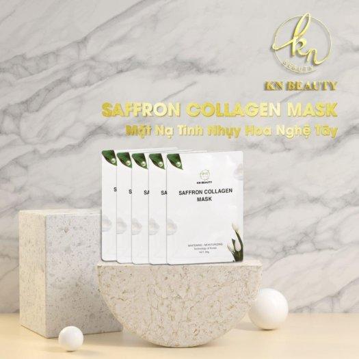 Mặt Nạ Tinh Nhụy Hoa Nghệ Tây KN Beauty Saffron Collagen Mask 30gr1