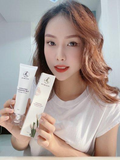 Sữa Rửa Mặt Trắng Da Ngừa Mụn KN Beauty Hydrating Cleansing Milk 100g2
