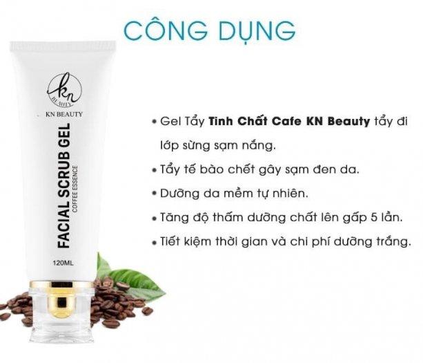Gel Tẩy Tế Bào Chết Tinh Chất Cà Phê KN Beauty Facial Scrub Gel 120 ml3