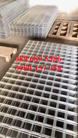 Nhà máy sản xuất lưới thép hàn đổ bê tông phi 6 200x200 và phi 8, phi 108