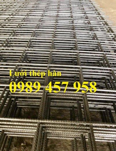 Nhà máy sản xuất lưới thép hàn đổ bê tông phi 6 200x200 và phi 8, phi 105