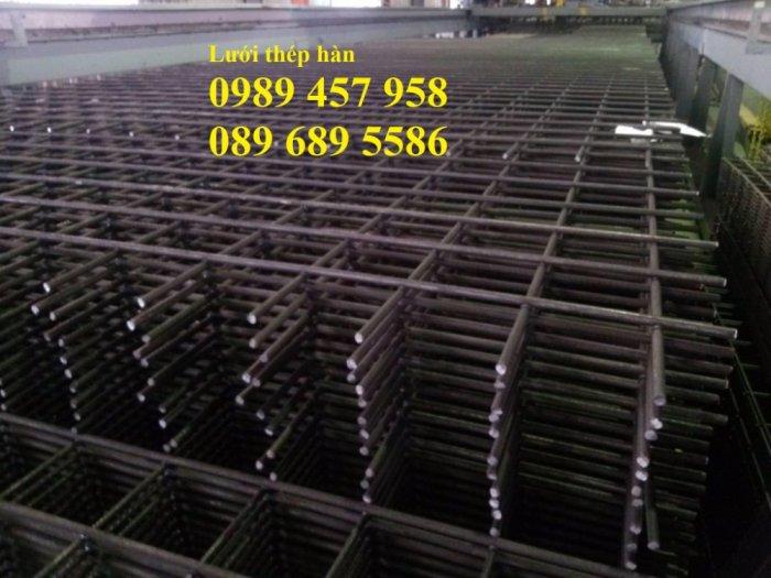Nhà máy sản xuất lưới thép hàn đổ bê tông phi 6 200x200 và phi 8, phi 102