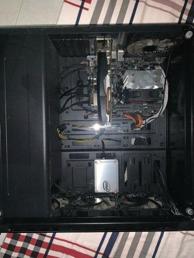Thùng PC G4600 8gb ram 128gb ssd1