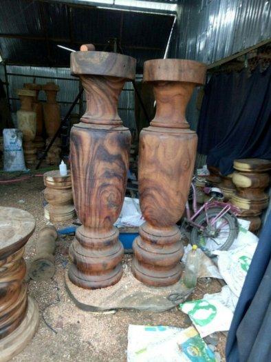 Lục bình gỗ me tây nguyên khối giá sỉ tại xưởng sản xuất anh khoa 24551