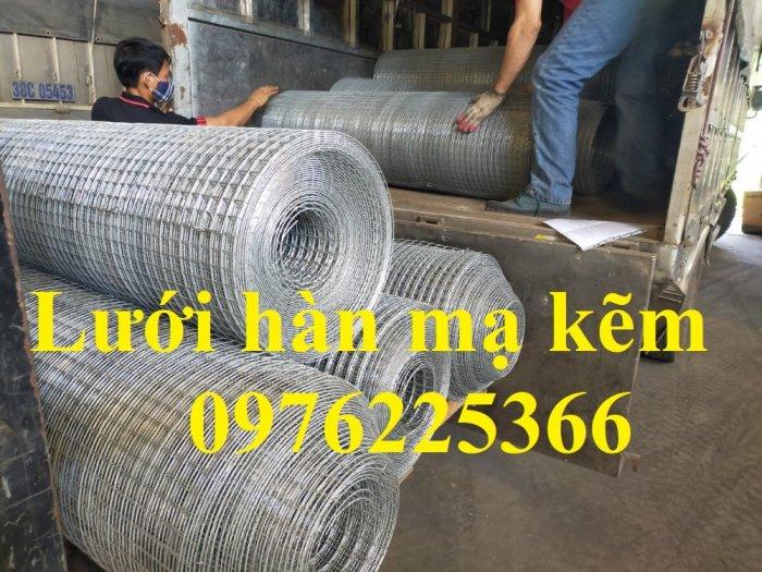 Lưới hàn cuộn, lưới hàn tấm, lưới thép hàn mạ kẽm4