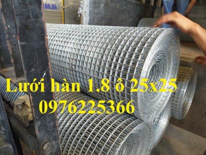 Lưới thép hàn cuộn, lưới thép hàn mạ kẽm, lưới hàn ô vuông8