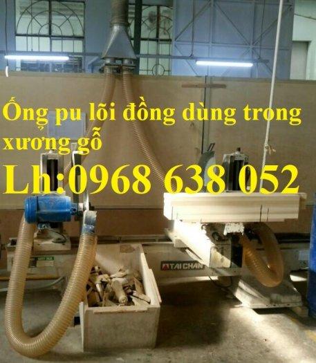 Mua ống Pu lõi kẽm mạ đồng để thu gom bụi trong nhà máy, xưởng sản xuất giá rẻ24
