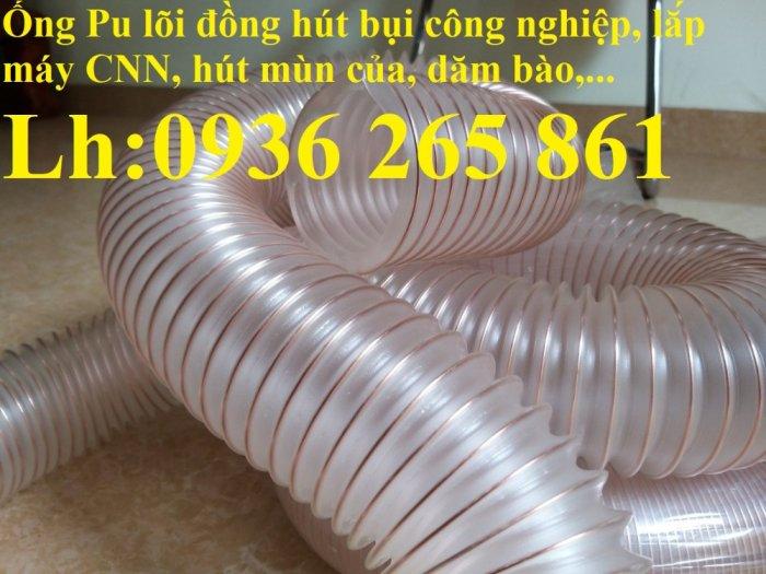 Mua ống Pu lõi kẽm mạ đồng để thu gom bụi trong nhà máy, xưởng sản xuất giá rẻ5