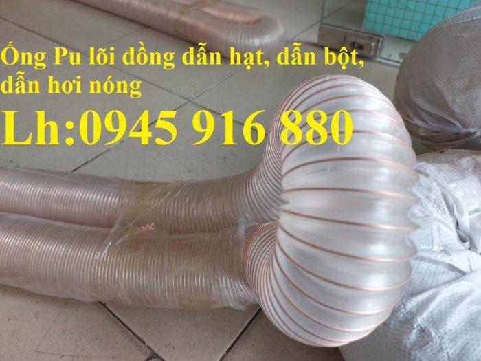 Mua ống Pu lõi kẽm mạ đồng để thu gom bụi trong nhà máy, xưởng sản xuất giá rẻ0