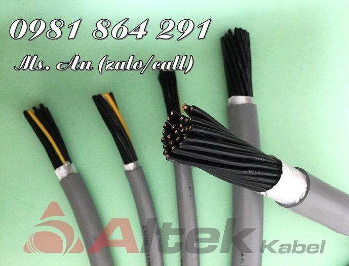 Cáp điều khiển chống nhiễu 25 lõi 25x0.5, 25x0.75, 25x1.0,25x1.5mm23