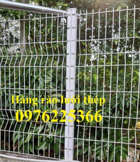 Hàng rào cột trái đào D5a50x150, D5a50x200 sơn tĩnh điện2