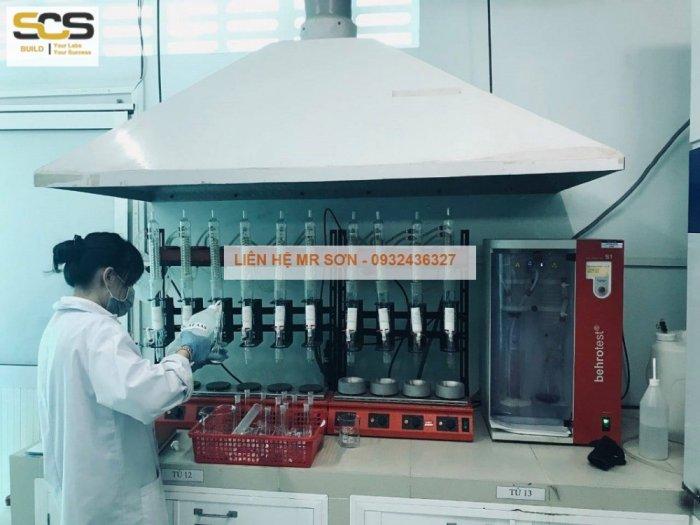 Bộ chụp hút inox cho máy quang phổ AAS3