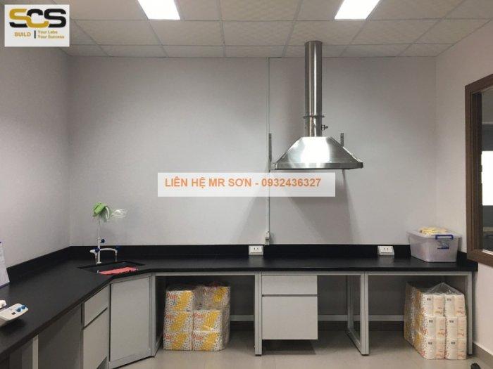 Bộ chụp hút inox cho máy quang phổ AAS2