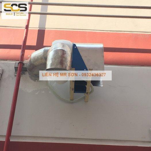 Hệ thống hút hơi nóng ASS - bằng inox 3040