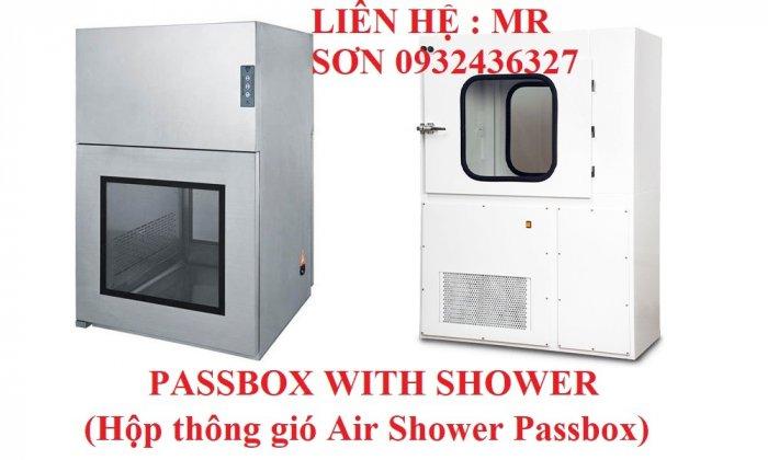 Hộp thông gió Air Shower Passbox2