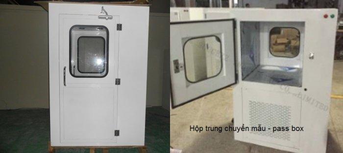 Hộp thông gió Air Shower Passbox1