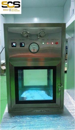 Hộp thông gió Air Shower Passbox Inox 3045