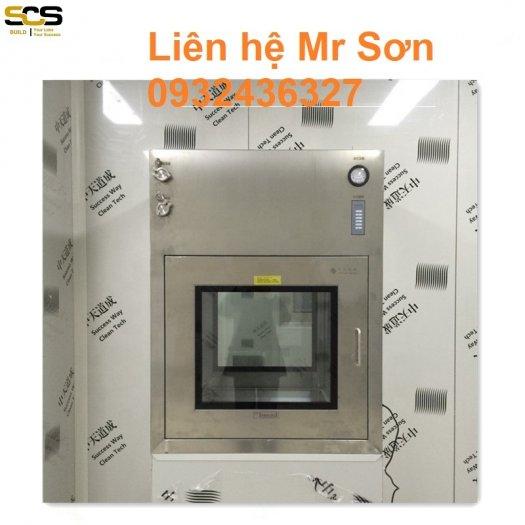 Hộp thông gió Air Shower Passbox Inox 3043