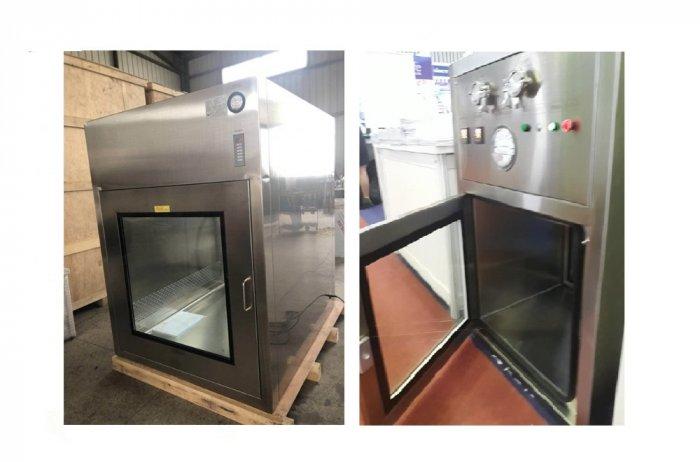 Hộp thông gió Air Shower Passbox Inox 3042