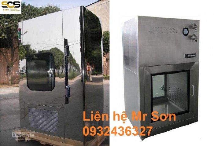 Hộp thông gió Air Shower Passbox Inox 3041