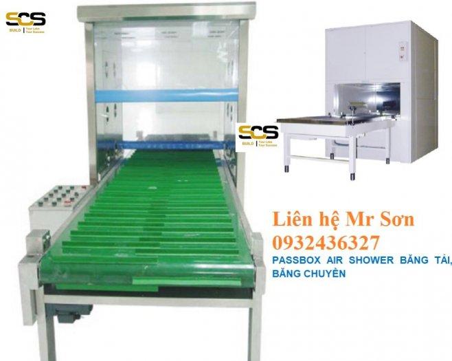 Passbox Air Shower Băng Tải, Băng Chuyền1