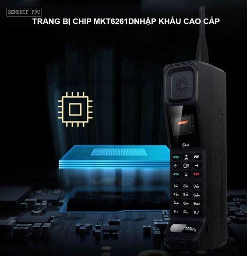 Điện thoại siêu bền, pin khủng, hỗ trợ sạc cho smartphone H9999
